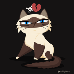 The Kittie of the Broken Heart by Maddy-Lunna