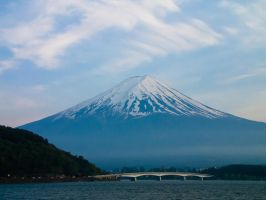 Mount Fuji 1 by FubukiNoKo