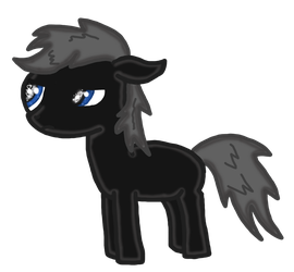 Sparrow as a foal by RomanceWriter1