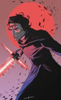 Kylo Ren by liarcowardsnake