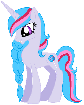 Lollypop Swril Tall Unicorn Adoptable Pony by T-w-i-l-i-g-h-t-MLP