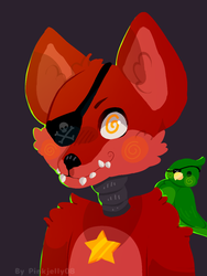 Rockstar Foxy by pinkjelly08