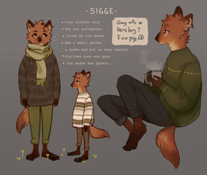 Sigge { reference } by R0BUTT