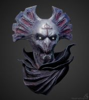 Demon bust by Summerson
