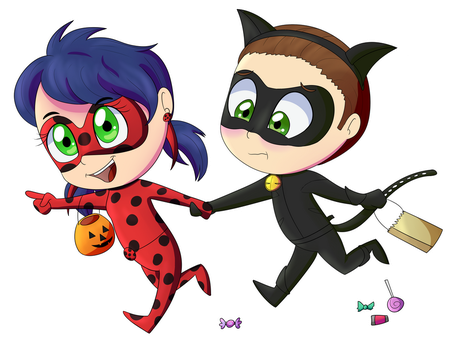 Lets Go Trick Or Treating! by Bad-Bentley