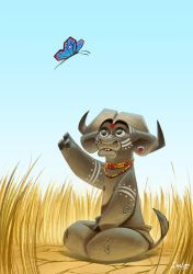 African Buffalo by Sommum
