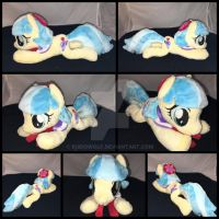 .:FOR SALE:. MLP Beanie Coco Pommel plushie by RubioWolf