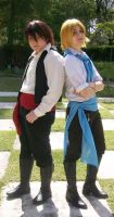 LH Manu and Martin cosplay by Aneris17
