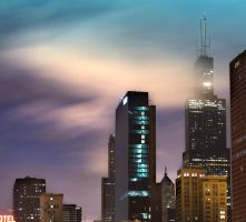 Bright Chicago Sky by BonaFideChimp