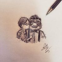 Carl and Ellie by Nephellim