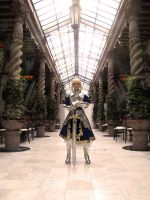 Saber / The king  of kings by JuTsukinoOfficial