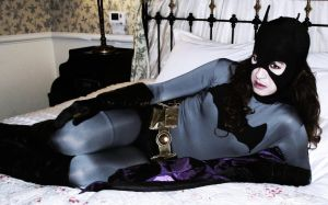 Young Justice Batgirl Cosplay - Cozy... by ozbattlechick
