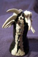 Bone Dragon_Back Detail by 1stQueenOfHalloween