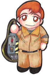Ray Stanz Chibi by paranormal-dog