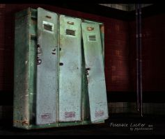 Pose-able Locker Object for XPS by psychicsocial