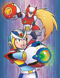 Reploid Heroes by marcotte
