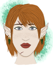 Elven-ish Mage -Finished- by Gothalla123