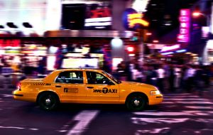 Time Square Taxi. by addiicted
