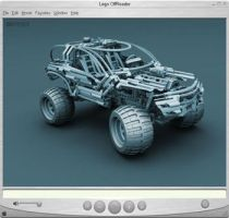 Lego 4x4 OffRoader - 360 View by pixelquarry