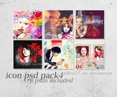 icon psd pack 4 by pflee77