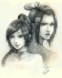 Commission: Azula and Ty Lee, by sinvia