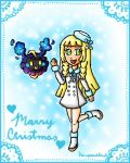 Lillie and Nebby christmas by ninpeachlover