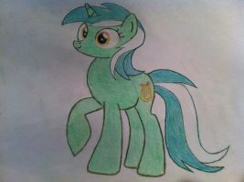 Lyra Drawing: Paper and Pencil by TheAgent777