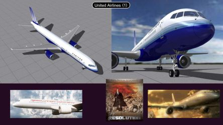 Boeing 757 United Airlines 1  by iconkid