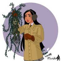Pocahontas and Grandmother Mandrake by mistressmariko
