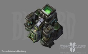 SC2: Terran Automated Refinery by PhillGonzo
