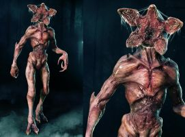 The Demogorgon by Bloodsicked