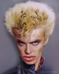 Billy Idol Caricature by cylevie