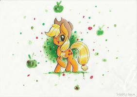 Applejack by PumpkinKikile