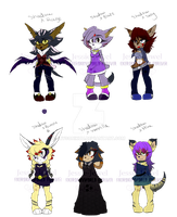 Weird Shipping Adopts (Pay pal and points)  ~Open~ by xXDreamyPastelsXx