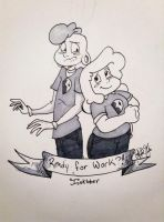 Lars and Sadie by SophieDoodlz