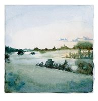 Daily Painting 3: A field in Sweden by emera
