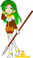 .:FIRE EMBLEM GIRL COLLAB : SYRENE:. by HOBYGRENOUSSE