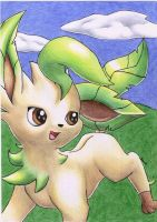 Allison the Leafeon by Togechu