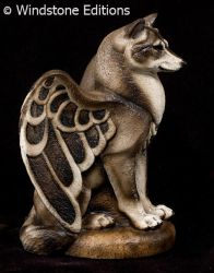 Small Spirit wolf by Reptangle