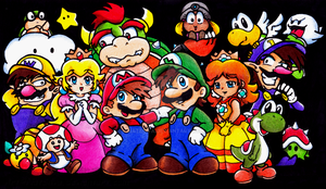 Super Mario All Stars by NatSilva