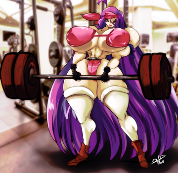 [COMM] Barbell working out by OAD-art