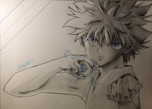Killua / HxH by psyoul