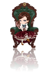 Little Lady Cranky Style ver. Green Reflection by Rosemoji