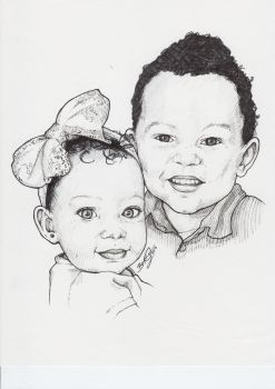 Brother and Sister by Kirkia