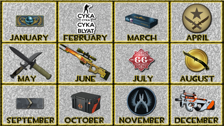 CS:GO - 12 Months by GT4tube