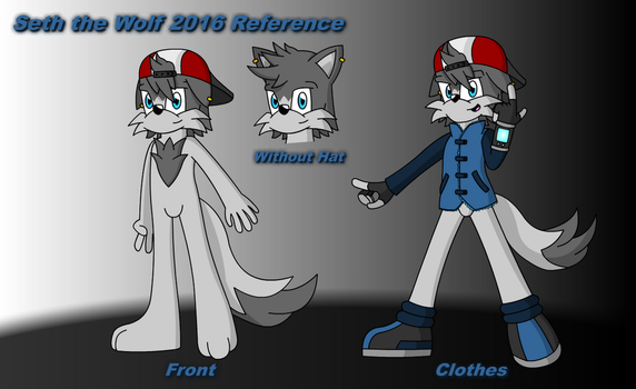 Seth the Wolf Reference and Biography 2016 by Samladdy
