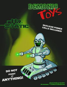 Demonic Toys: Mr. Static by Gummibearboy