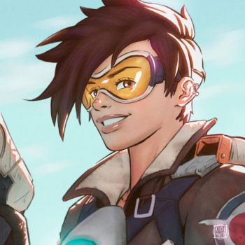 Overwatch Tracer by KidiMaster