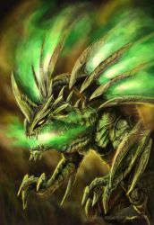 Insect dragon by LusiaNanami