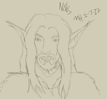 Practice Sketch 1: Nals by Markus-The-Madman